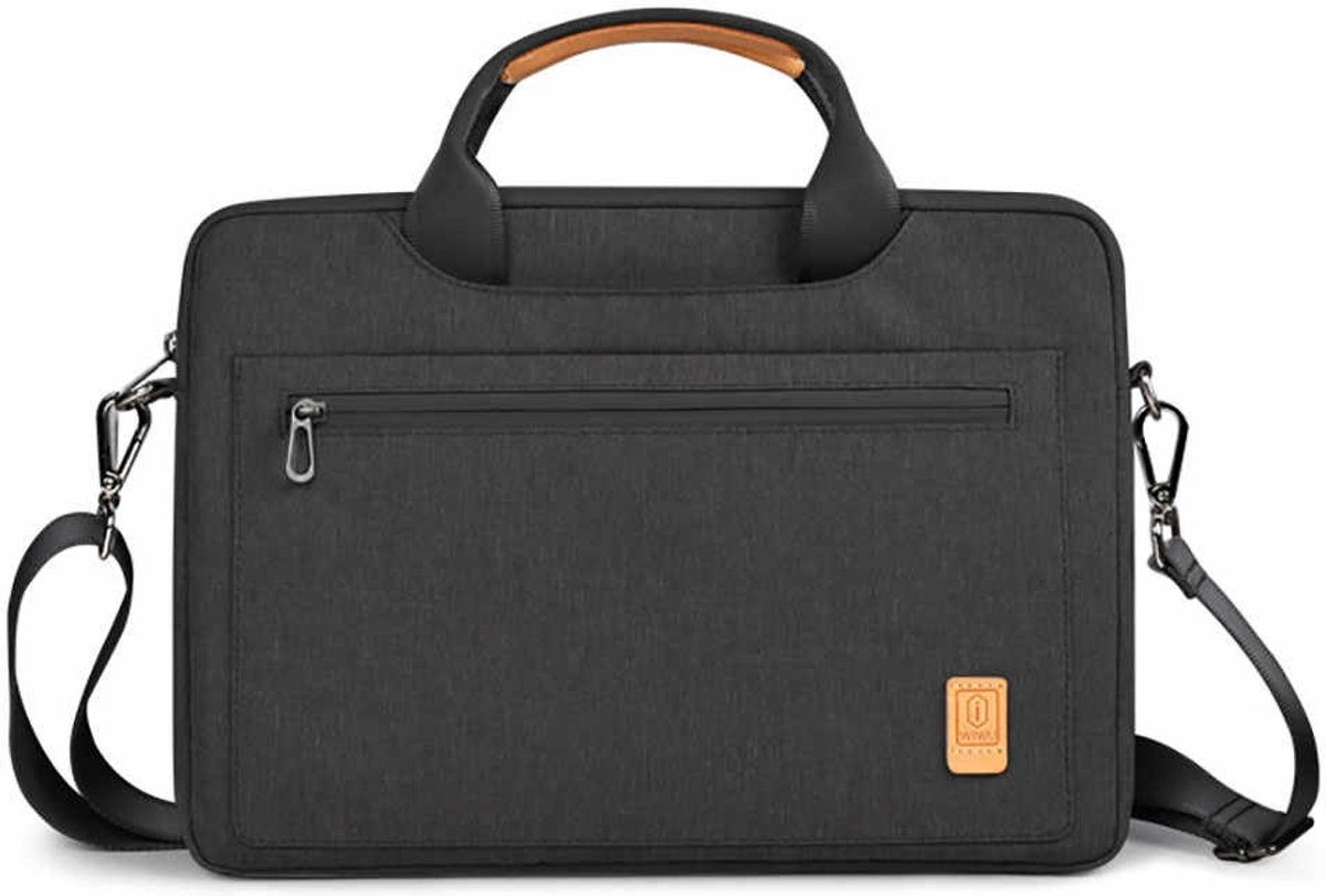 Laptoptas voor 15.4 inch laptop - WIWU Pioneer Shoulder - Zwart