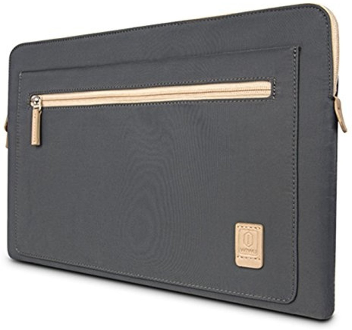 WIWU - 15,4 inch Athena Laptop & Macbook Sleeve - Grijs