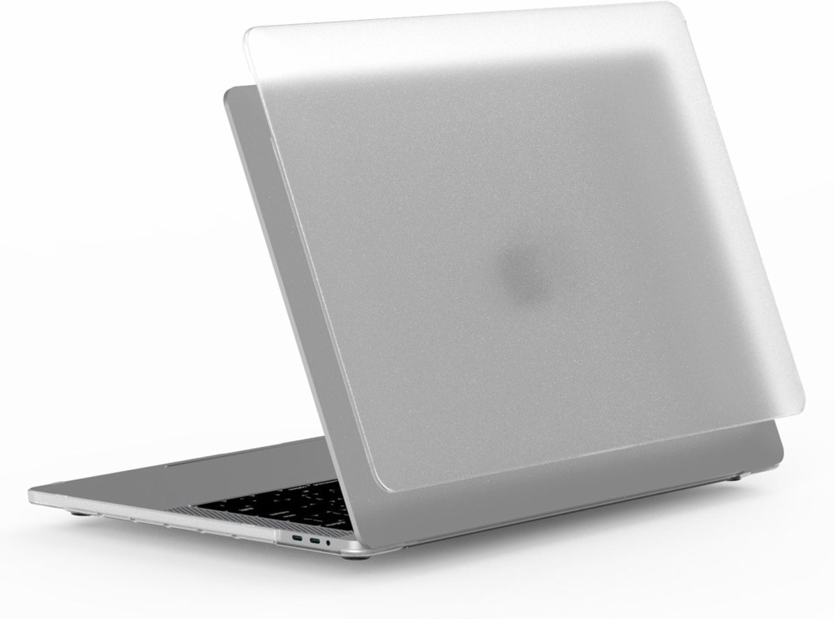 WiWU ISHLELD Case Cover PC Shell voor Apple MacBook Air 13 inch Model: A1932 (2018) - Transparant Matte