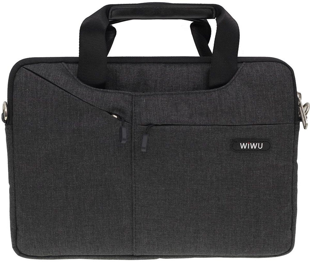 WiWu - 15.4 inch Laptoptas - Elite Zwart