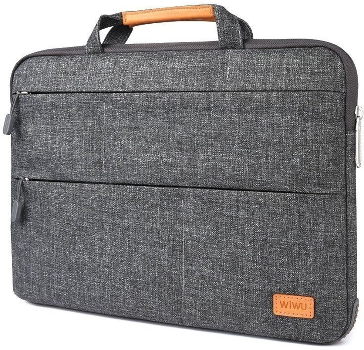 WiWu - Laptop sleeve 15.4 inch - Smart Stand Laptoptas - Grijs