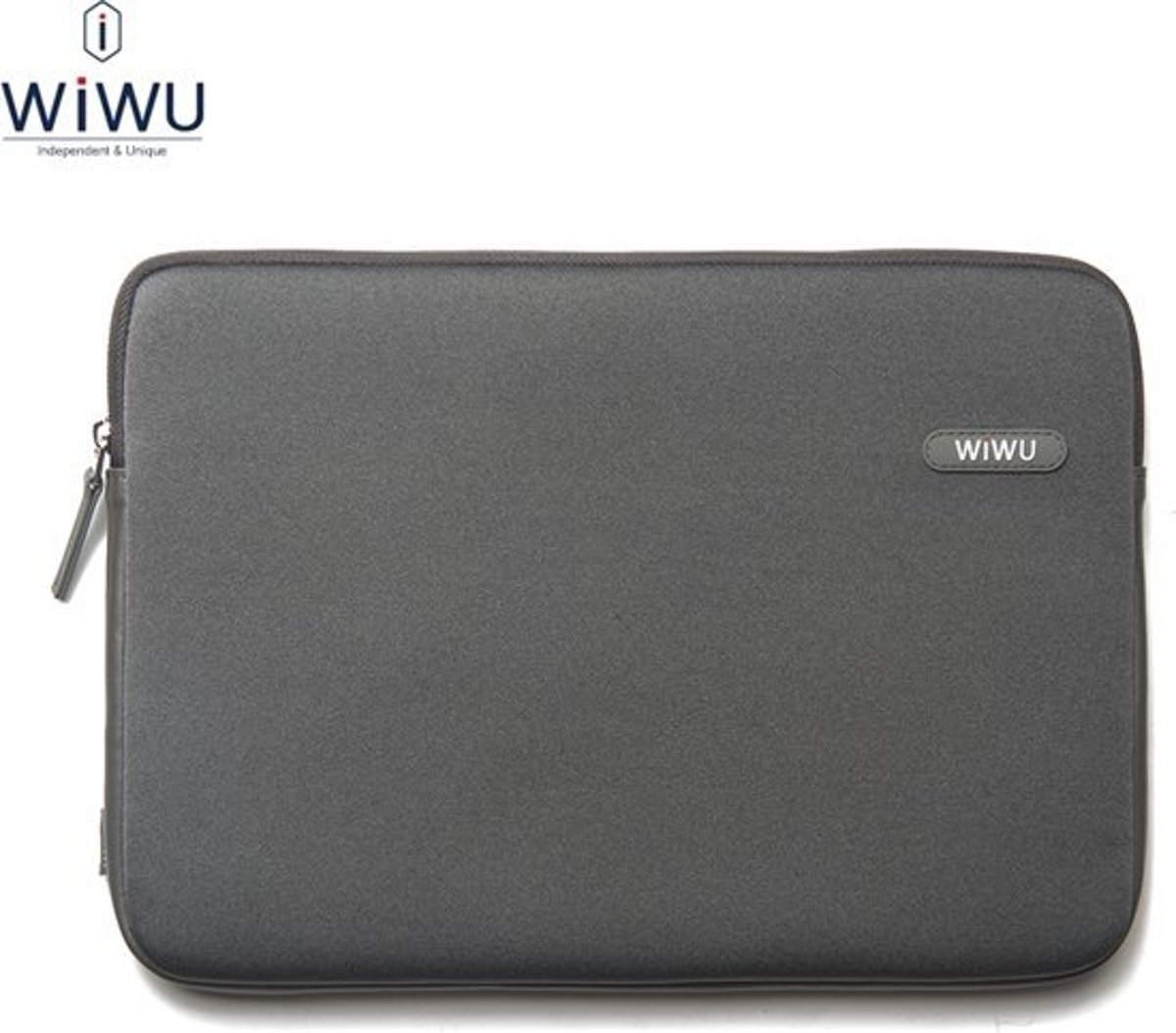 WiWu - MacBook Air 13-inch (2010-2017) Hoes - Sleeve Classic Grijs