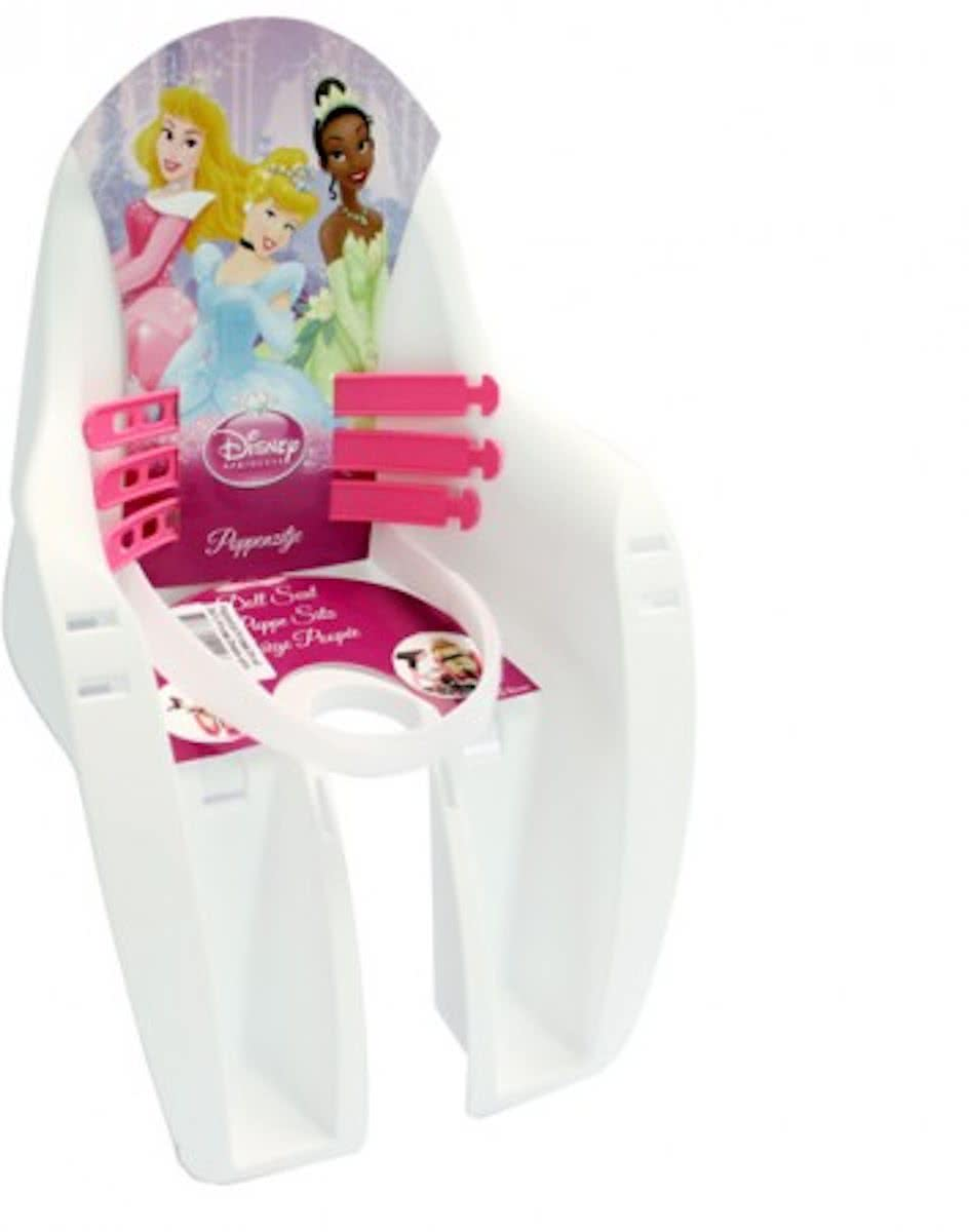 Poppenzitje Fiets Princess Dreams - Wit