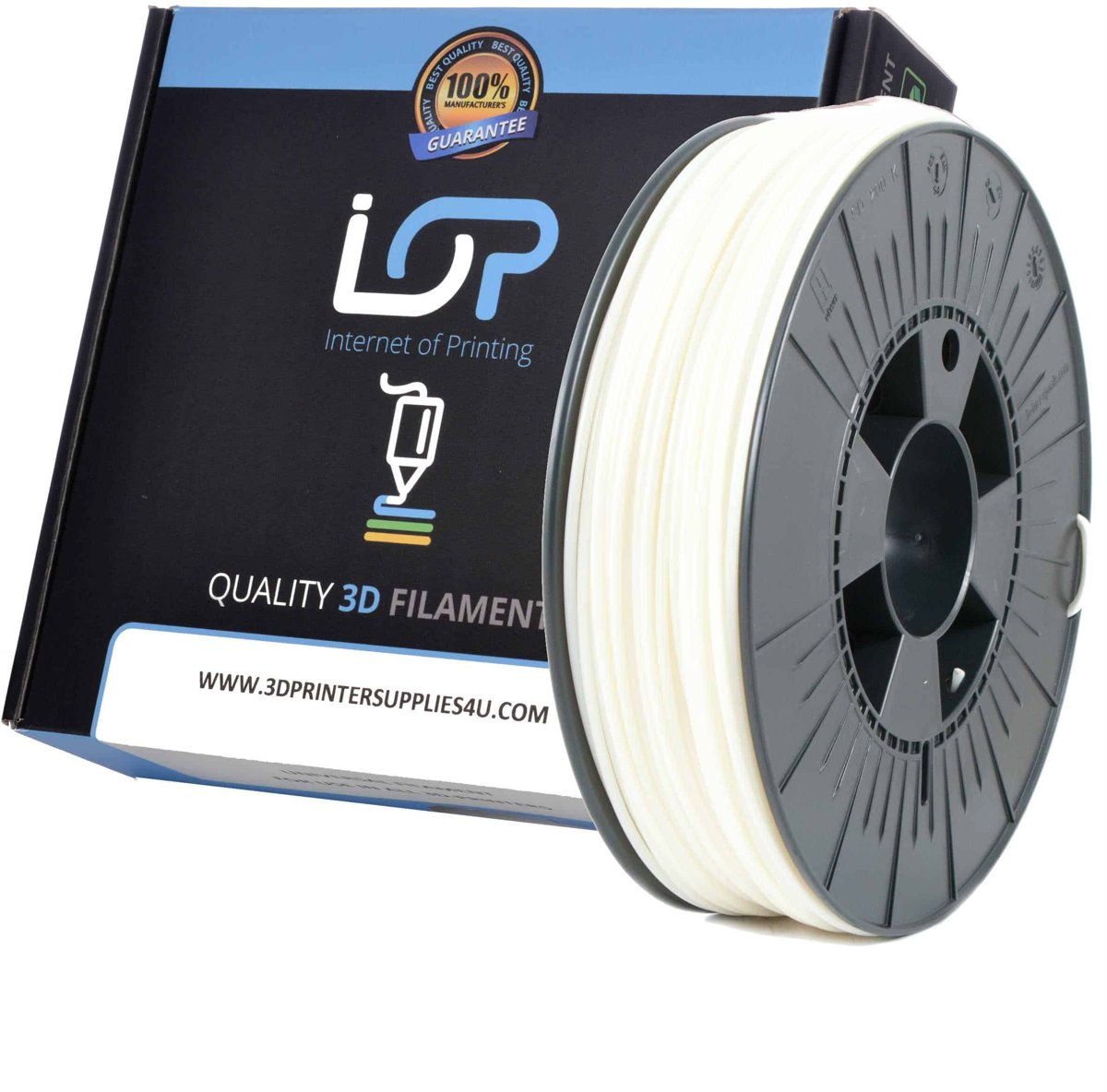IOP ABS 2,85mm White 1kg