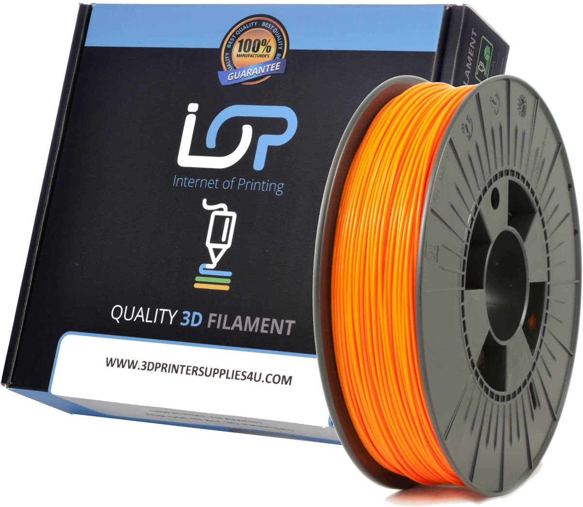 IOP PLA 1,75mm Pearl White 500gr