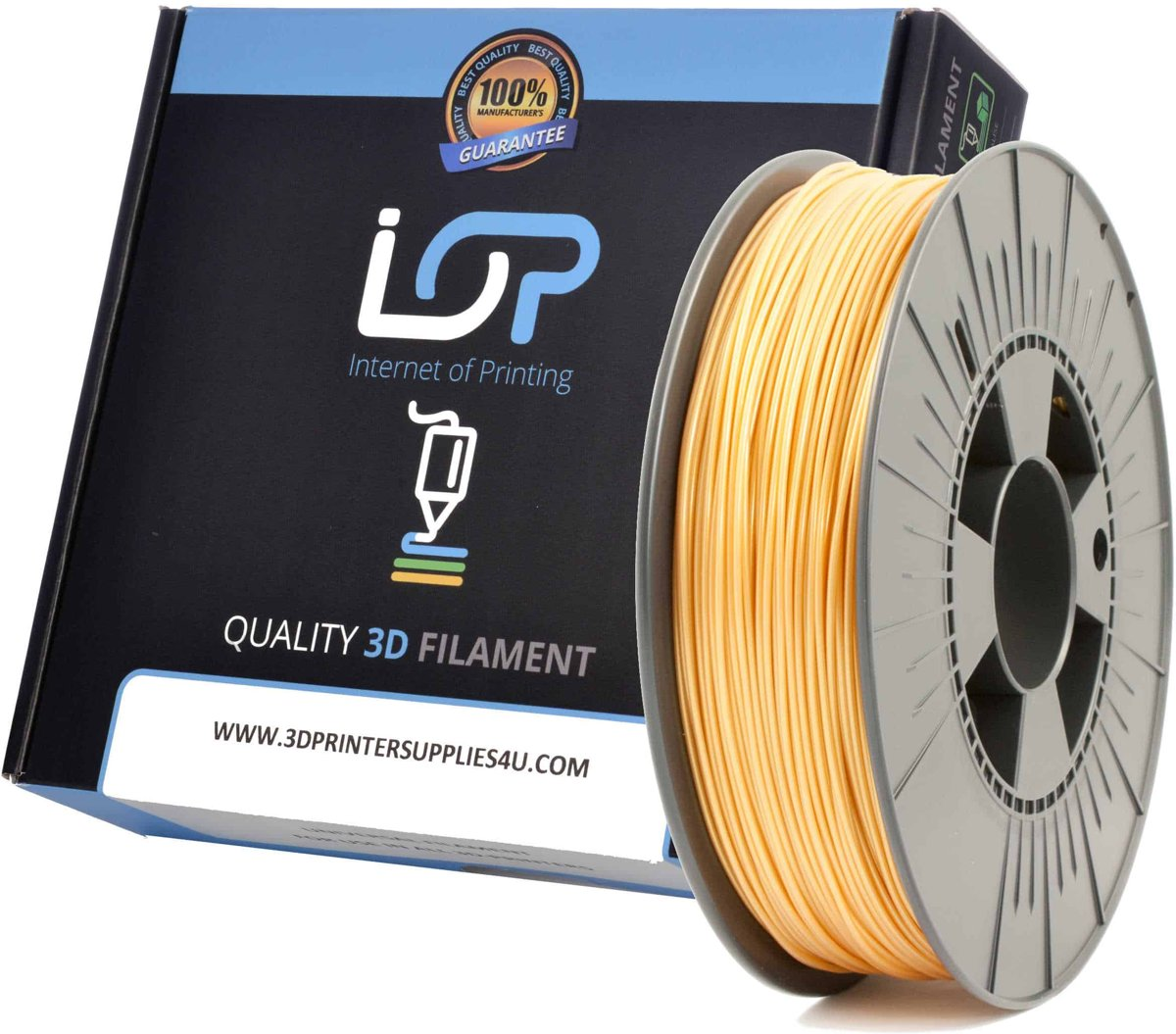IOP PLA 1,75mm Yellow 500gr