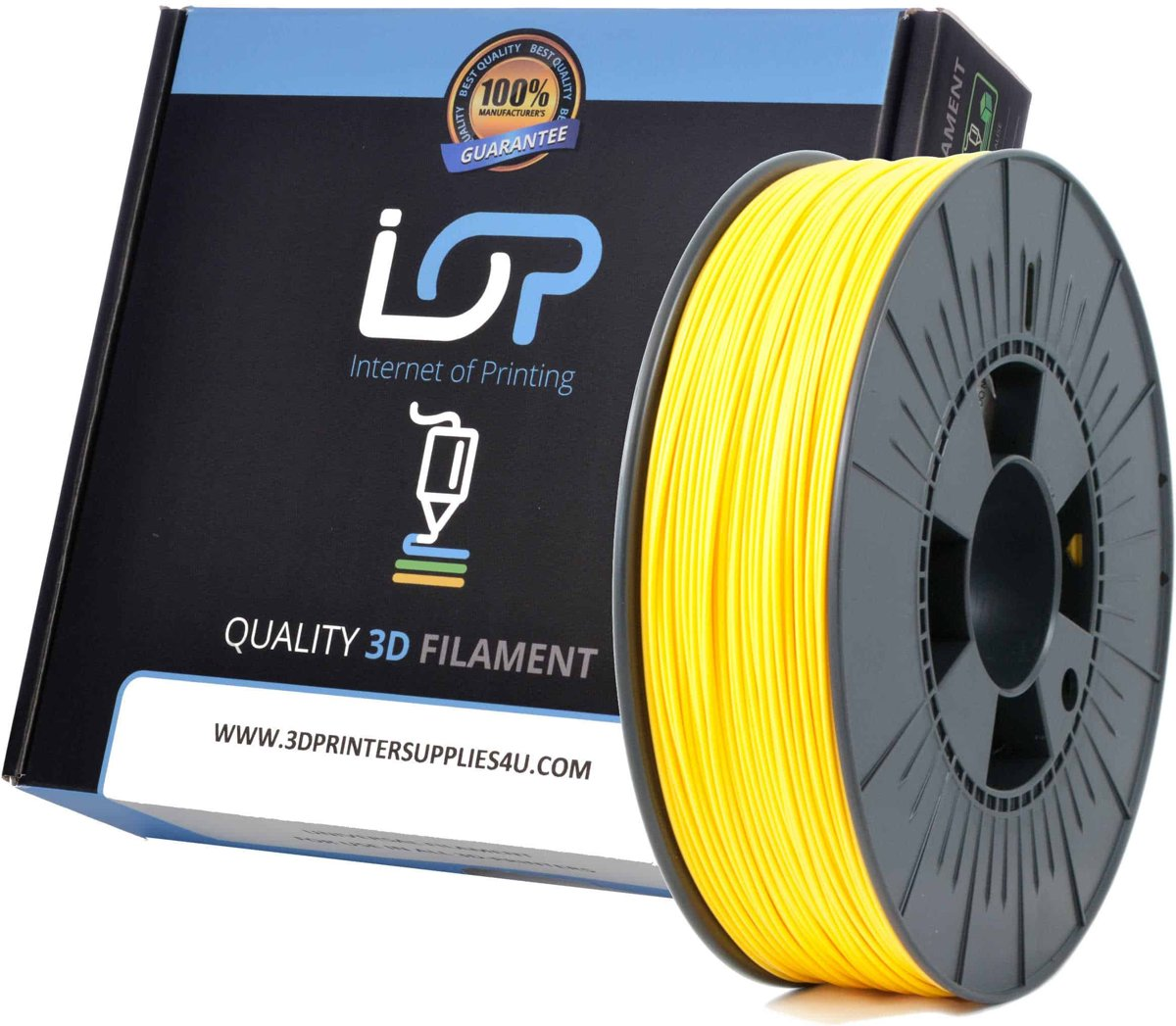 IOP PLA 1,75mm Yellow Gold 500gr