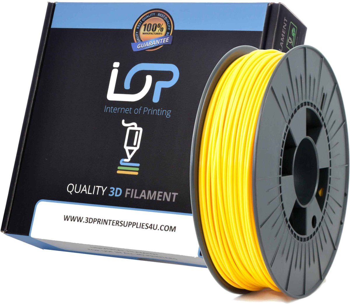 IOP PLA 2,85mm Yellow Gold 1kg