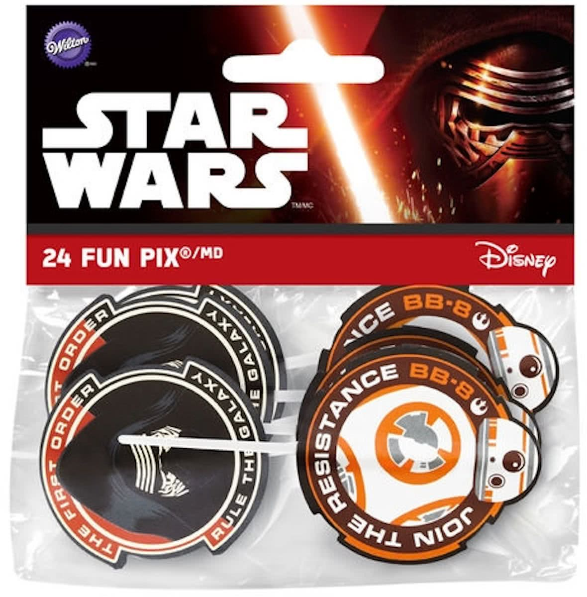 Wilton Star wars cocktailprikkers 24 stuks