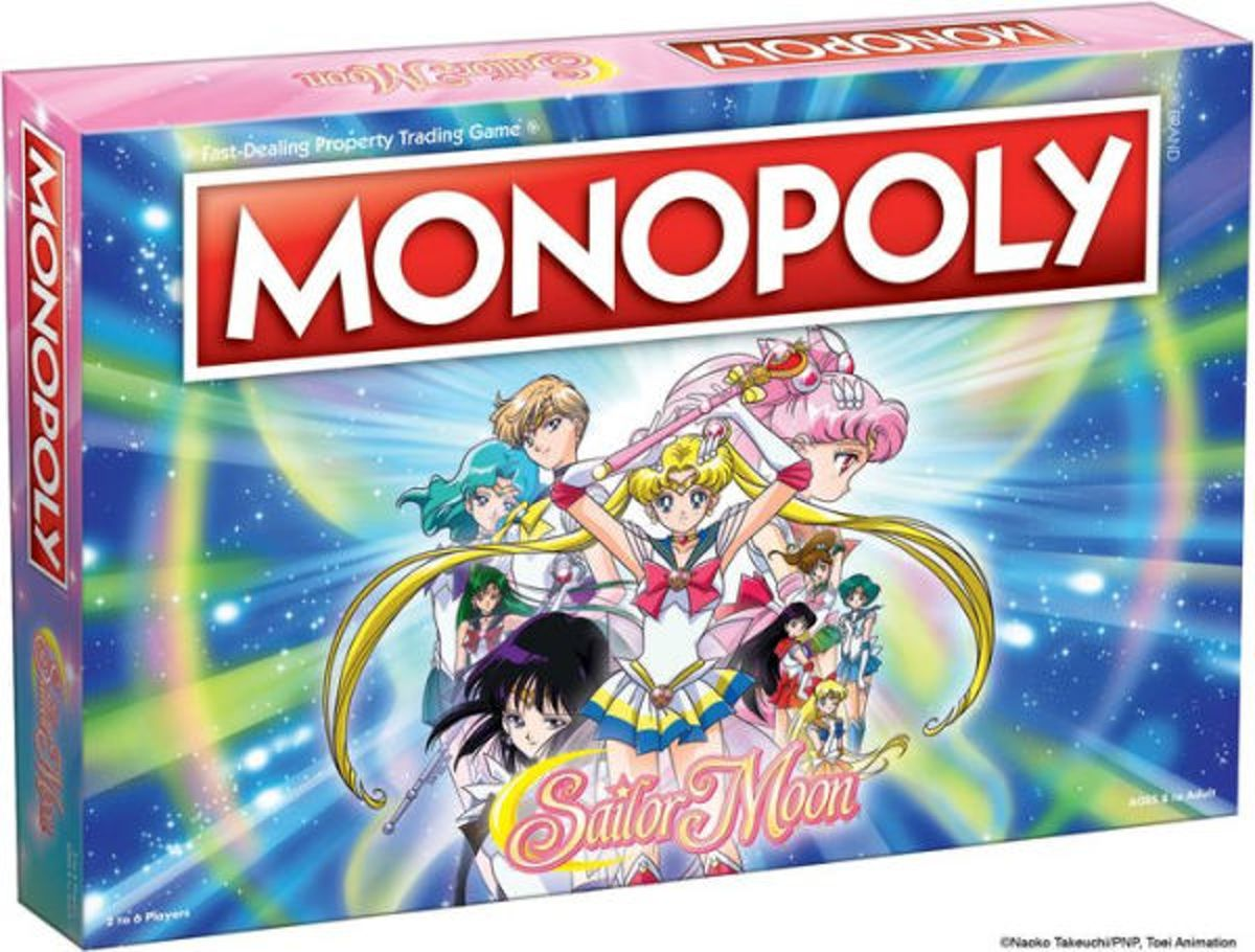 Monopoly Sailor Moon - Bordspel