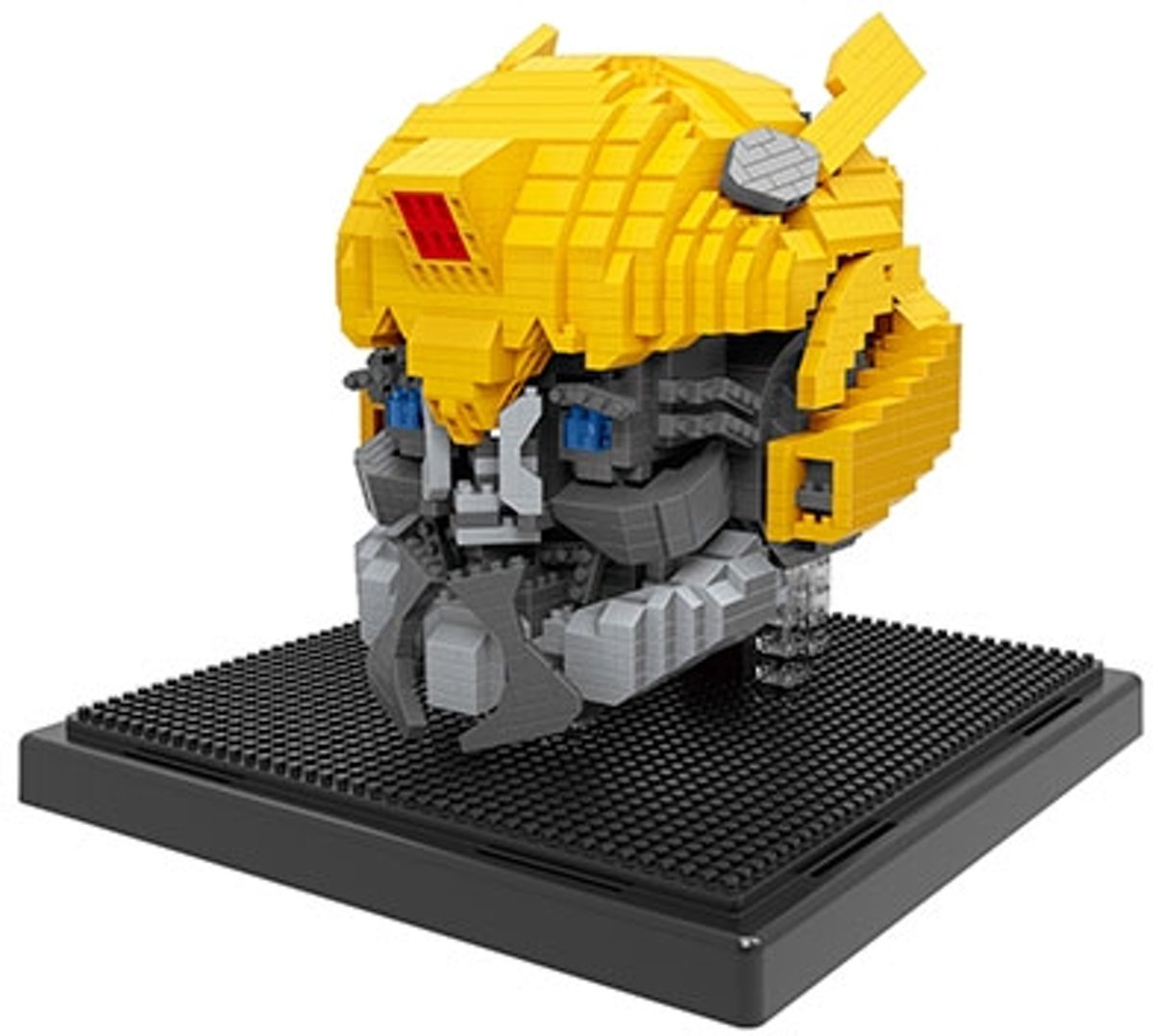 Nanoblocks Bumblebee - Transformers helm met LED ogen