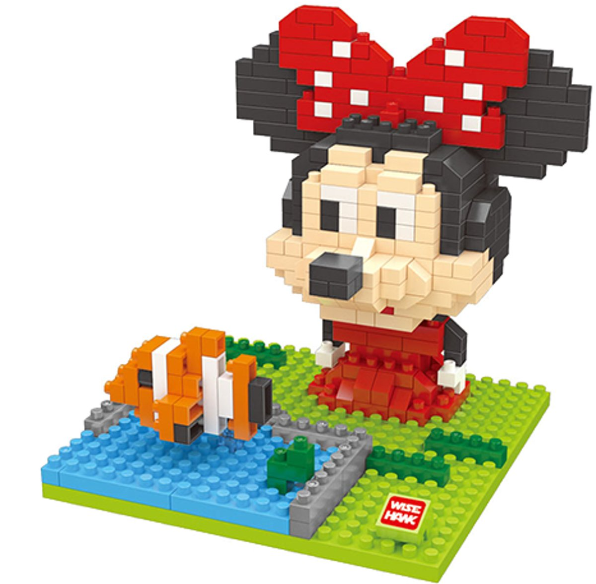 Nanoblocks Minnie Mouse met Nemo - Wise hawk