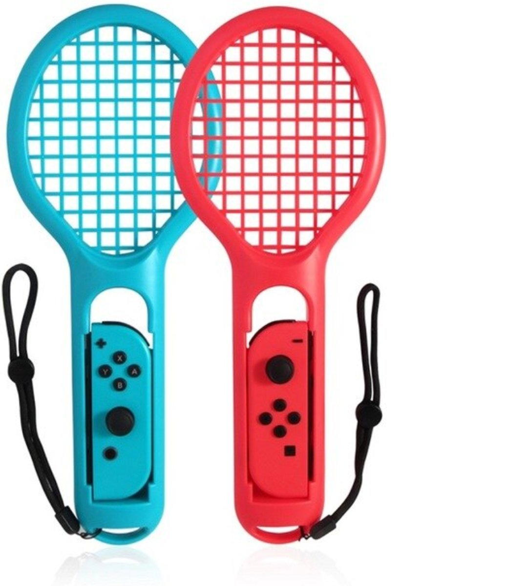 Nintendo Switch Tennis Racket - 2 Tennis Rackets - Rood / Blauw