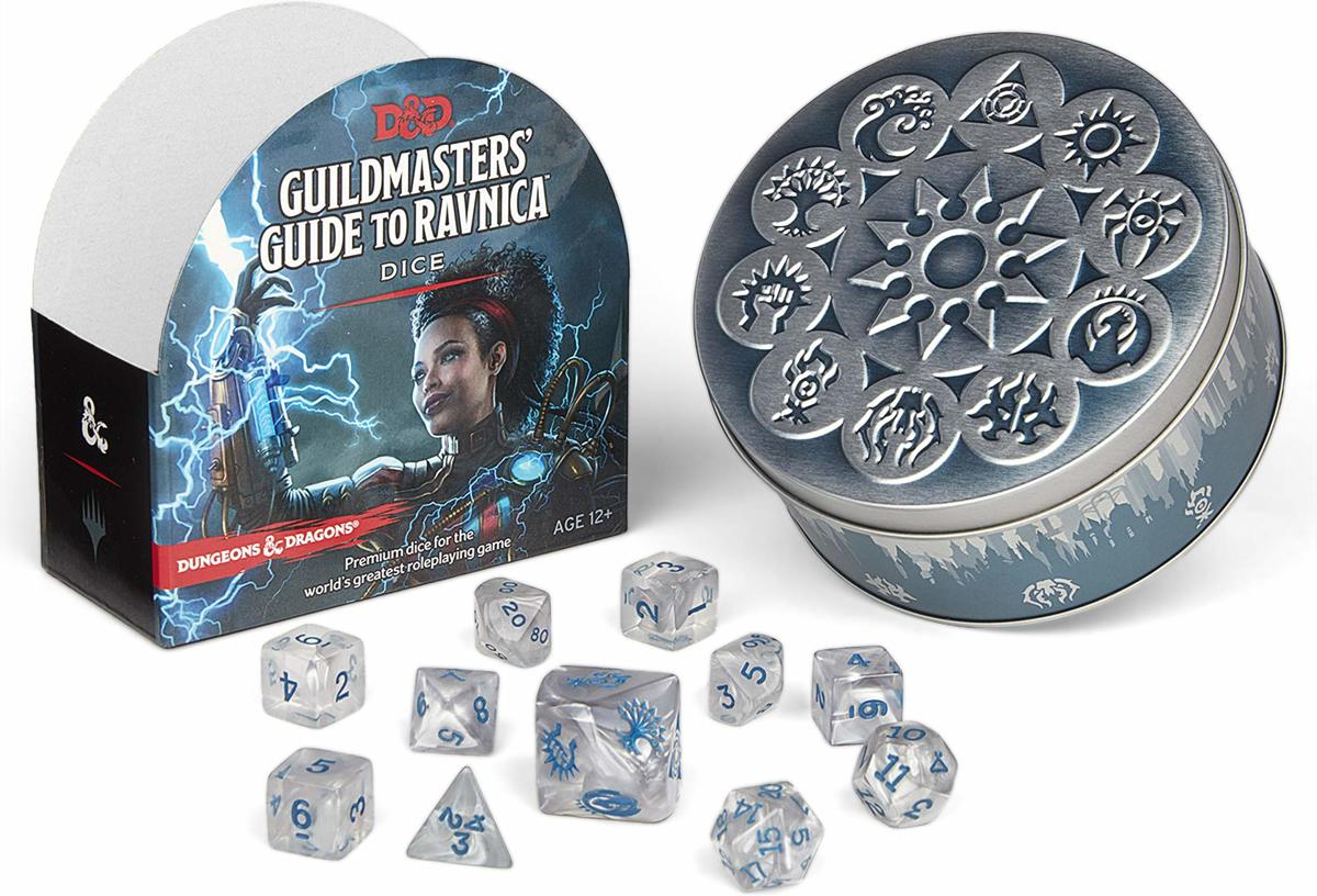 D&D Guildmasters Guide to Ravnica Dice