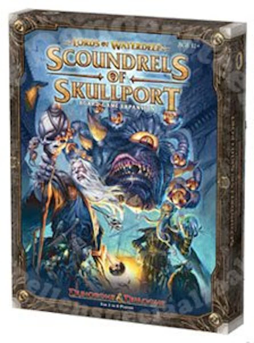 D&D Scoundrels of Skullport Boardgame - Bordspel