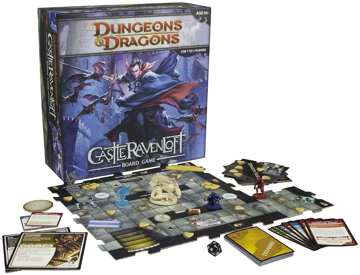 Dungeons & Dragons Castle Ravenloft - Bordspel