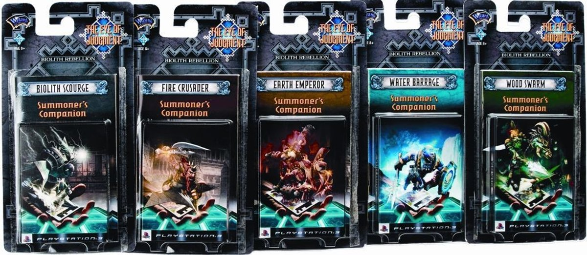 Eye of Judgment Biolith Rebellion 1 - Thema Deck 5 stuks