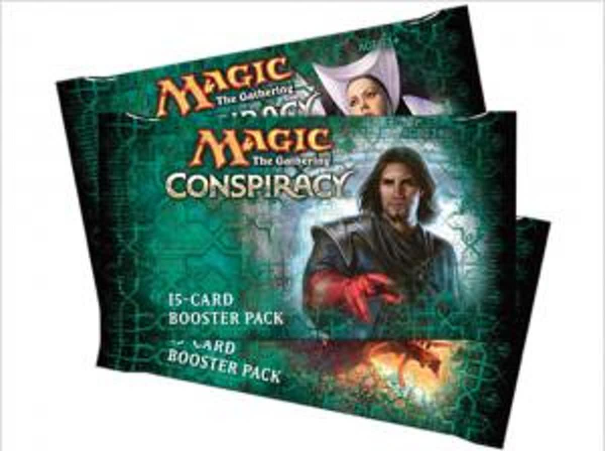Magic The Gathering 3 Booster Pakjes Conspiracy