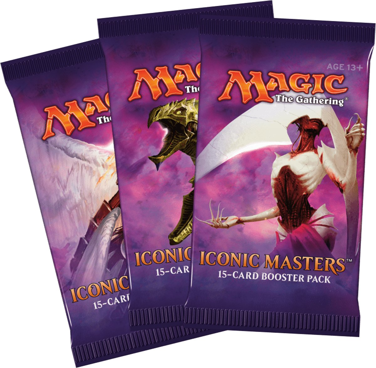Magic The Gathering 3 Booster Pakjes Iconic Masters