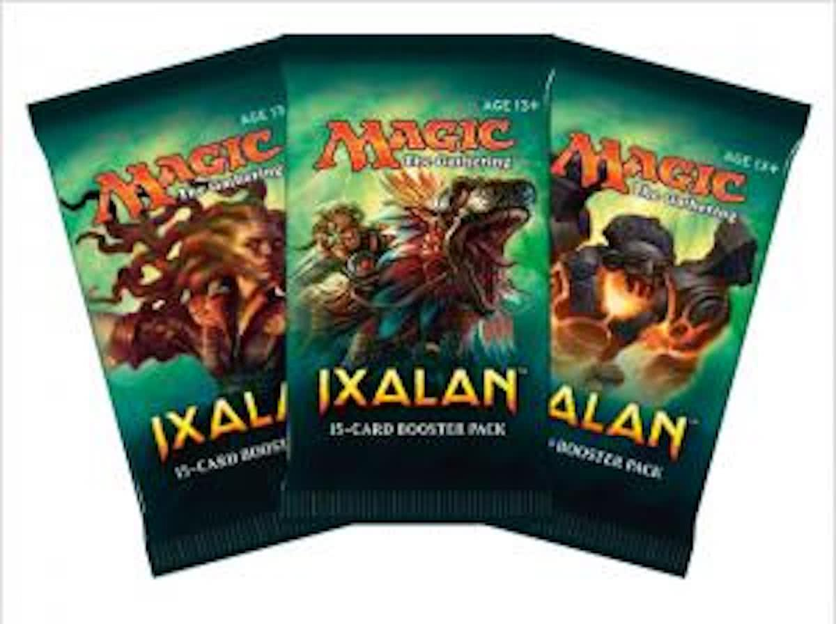 Magic The Gathering 3 Booster Pakjes Ixalan