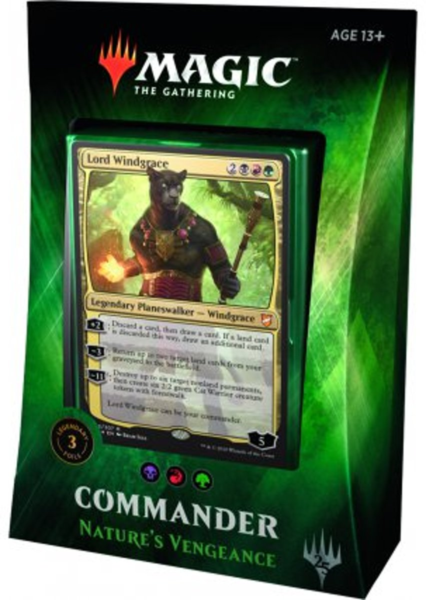 Magic The Gathering Commander 2018: Natures Vengeance