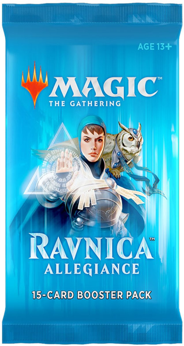 Magic the Gathering 3 Booster Pakjes Ravnica Allegiance