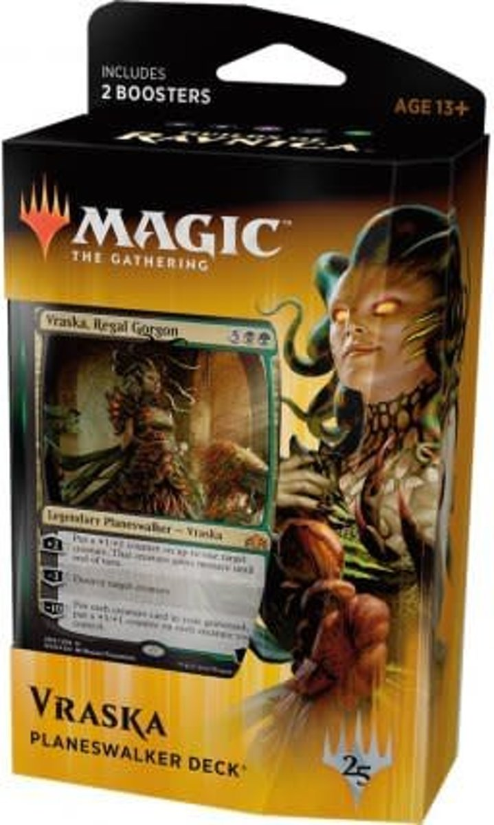 Magic: the Gathering Guilds of Ravnica Regal Gorgon Deck (GB, Vraska)