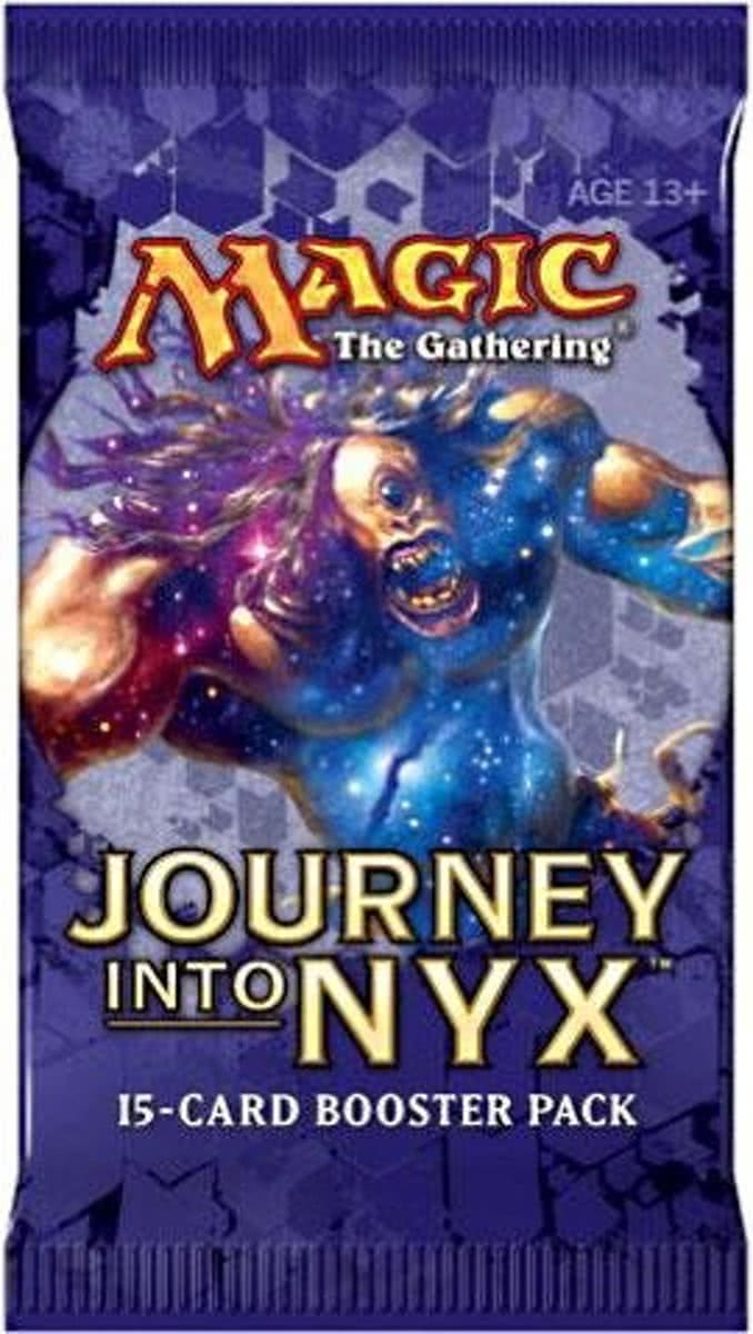 Magic the Gathering Journey into Nyx booster