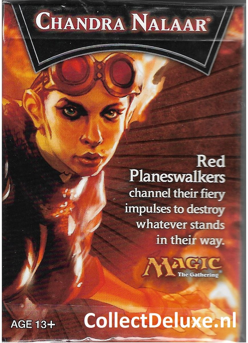 Magic the gathering 2013 Chandra Nalaar Sample Deck trading cards