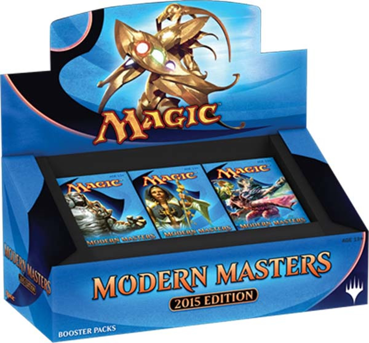Modern Masters 2015 Booster Display