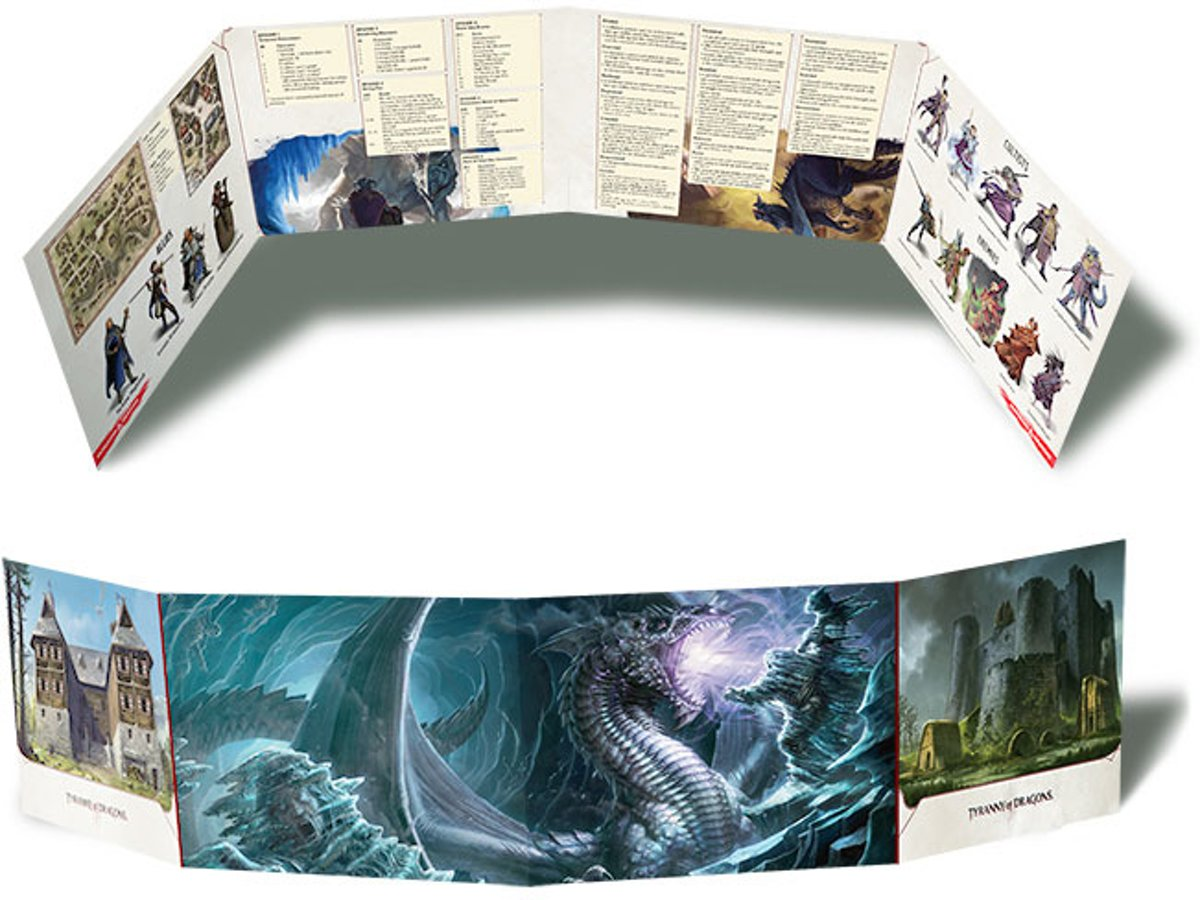 Tyranny of the Dragons Dungeon Master Screen