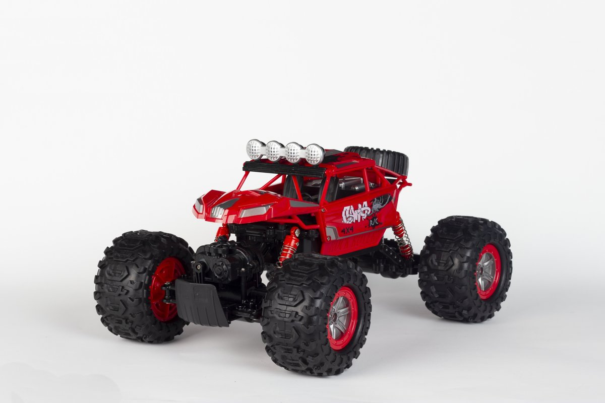 Wonky Cars Amphi - Crawler Red