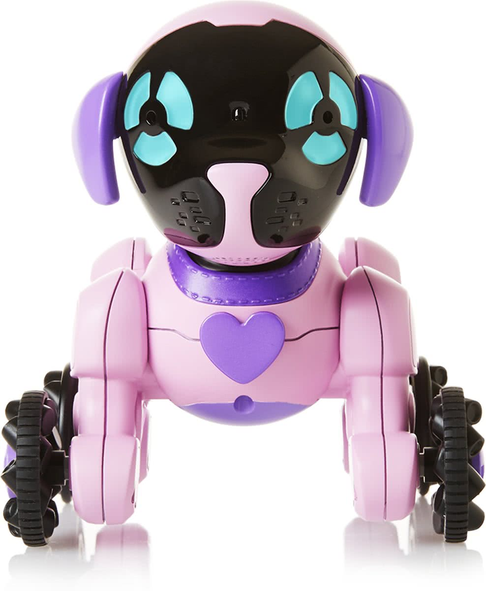 Chippies Chipette - Robot hond roze