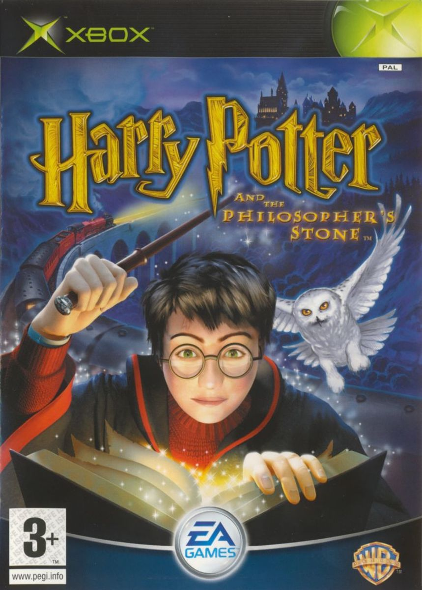 Harry potter and the philiosophers stone -xbox