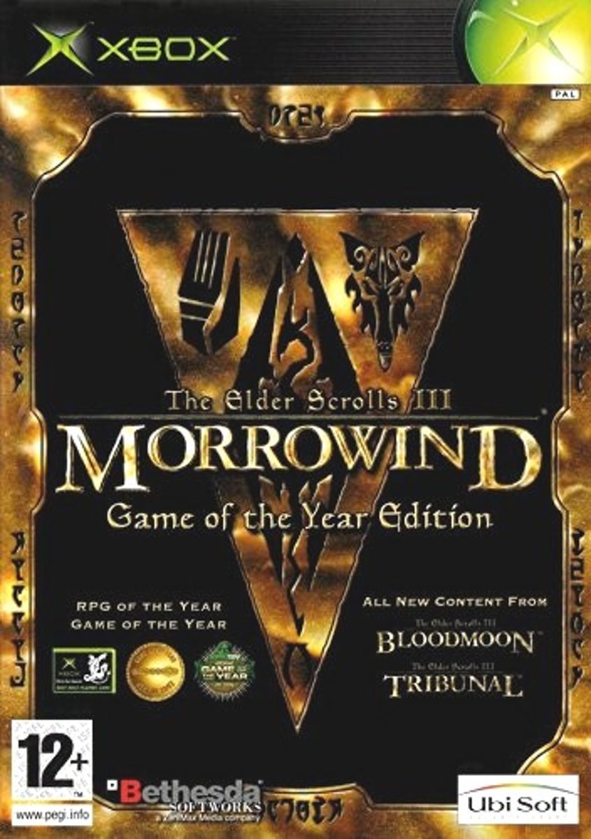 Morrowind Game Of The Year Edition (Xbox)