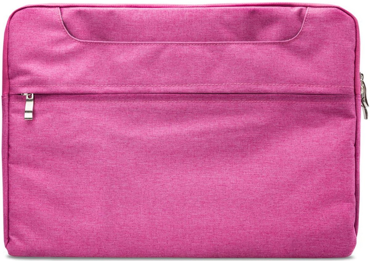 Xccess - 15 inch Laptop Schoudertas - Roze