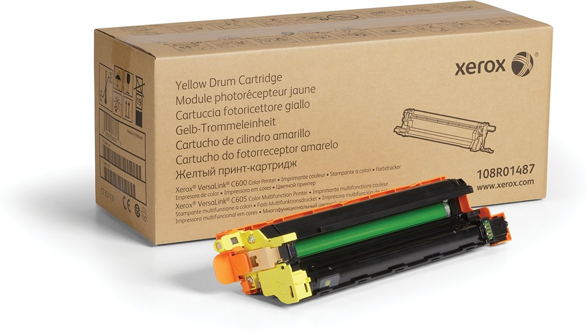XEROX XFX Drum Cartridge yellow 50000 pages for VersaLink C60X
