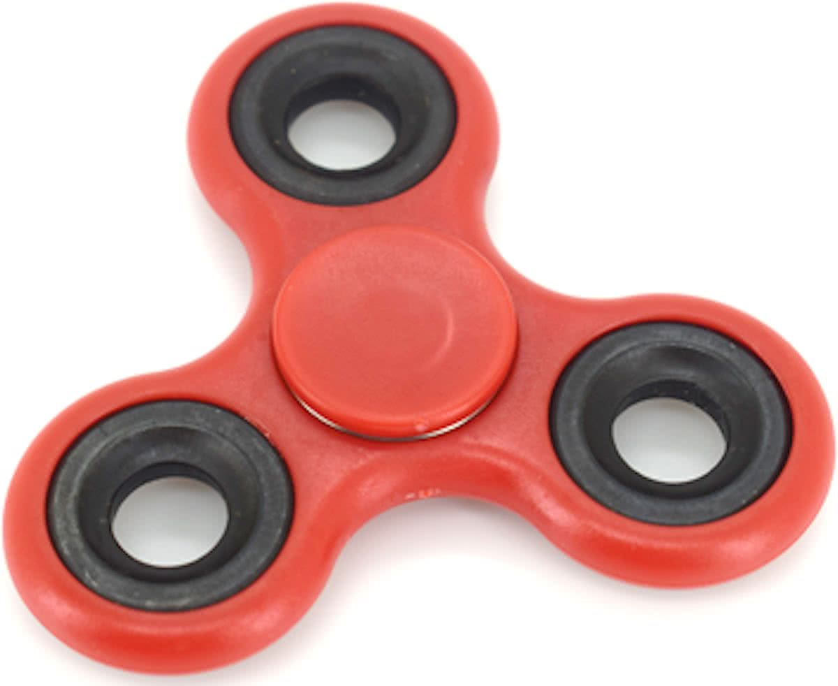 Spinner - Anti Stress - Rood