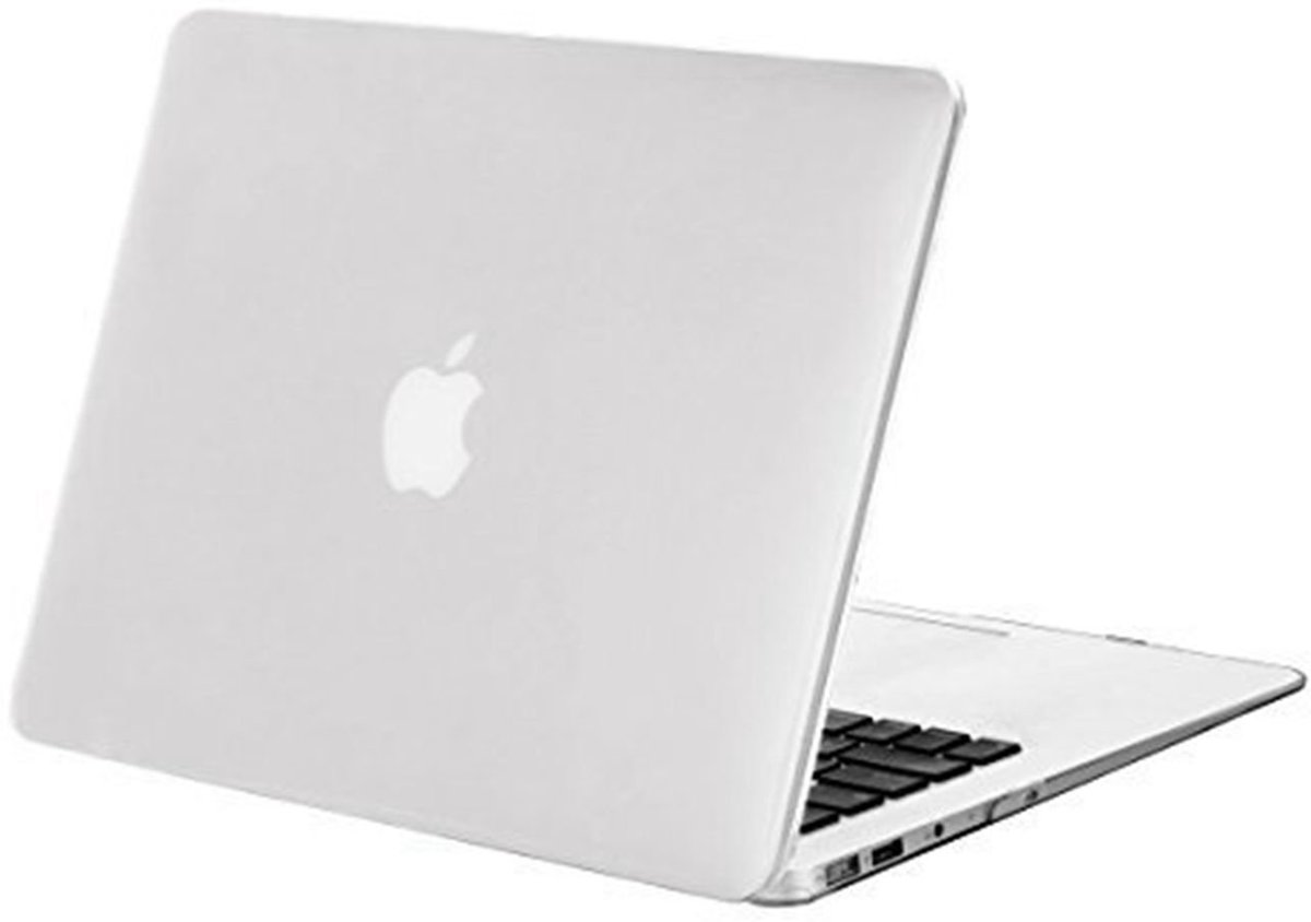 Macbook Case voor Macbook Pro 13 inch zonder Retina - Laptoptas - Clear Hardcover - Transparant
