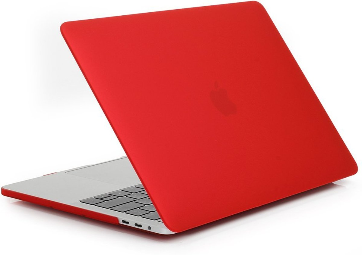 Macbook Case voor New Macbook PRO 15 inch met Touch Bar 2016 / 2017 - Hard Case - Matte Rood