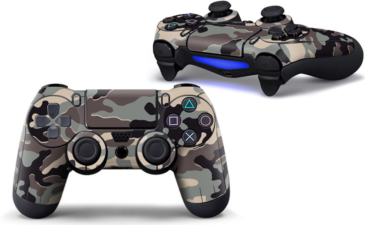 Playstation 4 Controller Skin Camouflage Army - PS4 Controller Sticker