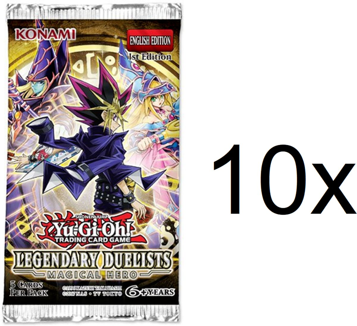 Yu-Gi-Oh! - Legendary Duelists Magical Hero 10 boosters