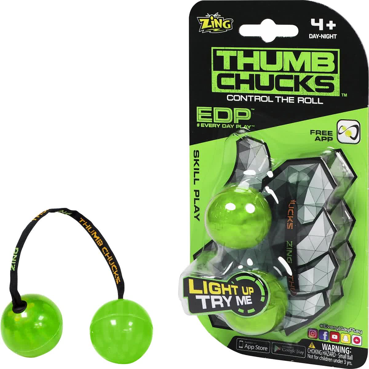 Thumb Chucks Groen -