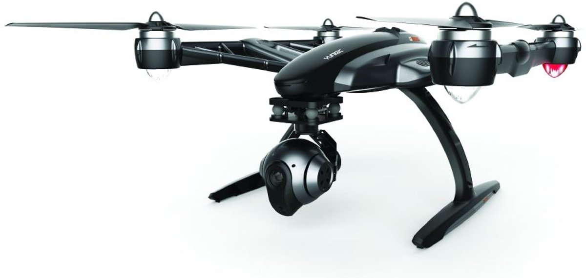 Q500 Typhoon Black Edition Drone met CGO3 4K camera + 2x battery + SteadyGrip