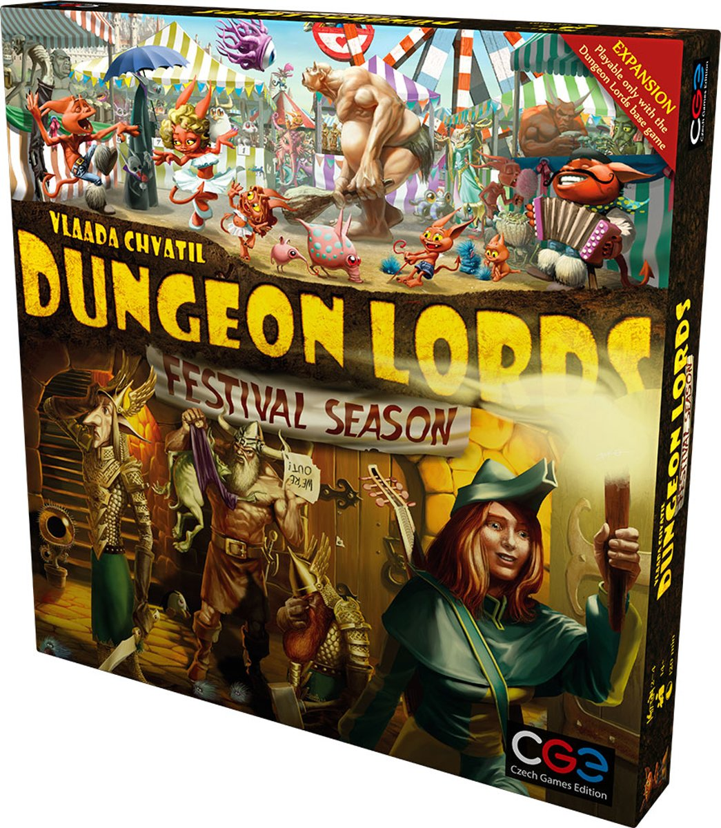 Dungeon Lords Festival Season