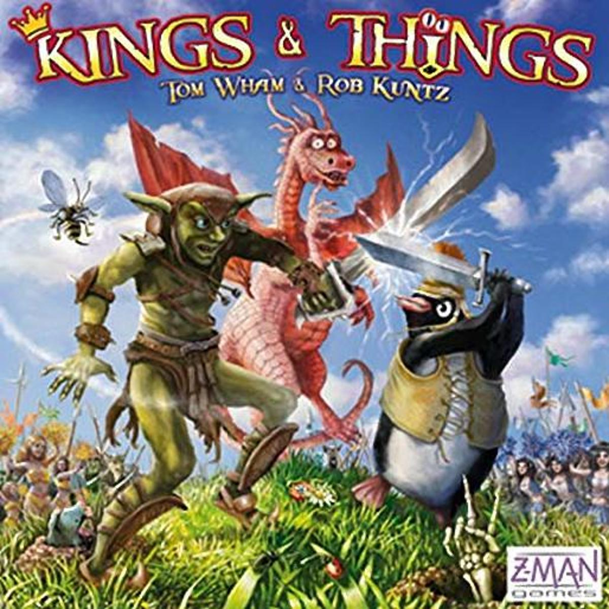 Kings and Things Board Game