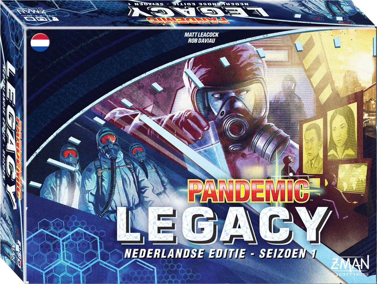 Pandemic Legacy Blue - Bordspel