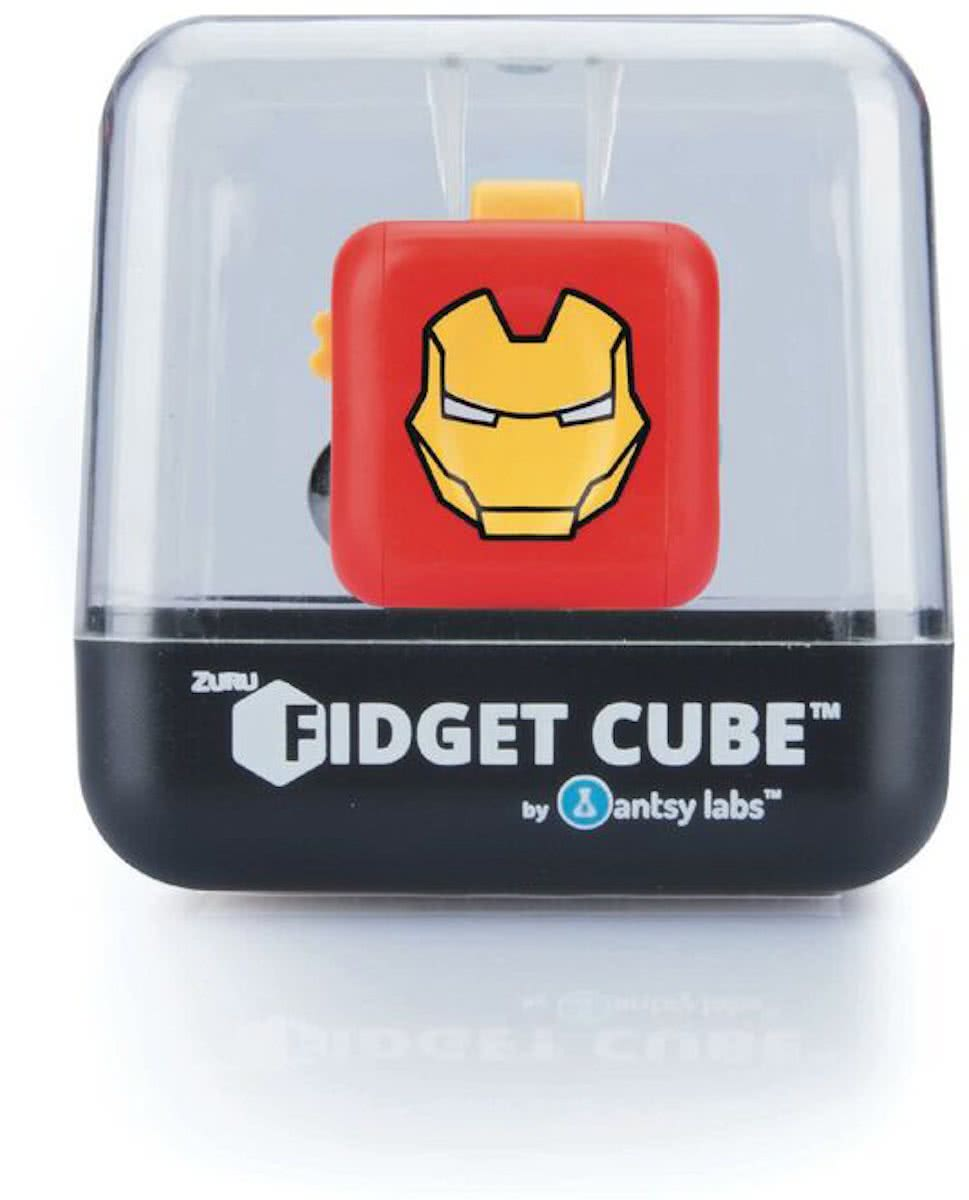 Cube - Iron Man Friemelkubus