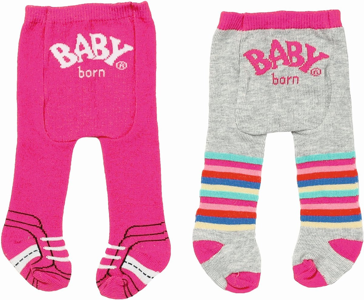 BABY born� Maillot Trend: roze/grijs