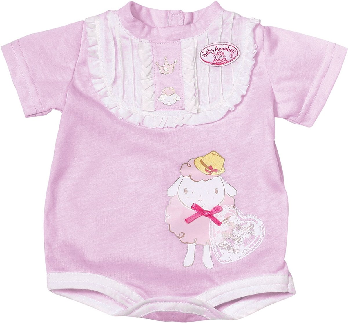 Baby Annabell Ondergoed in roze/wit of lila (assorti, 1 set)